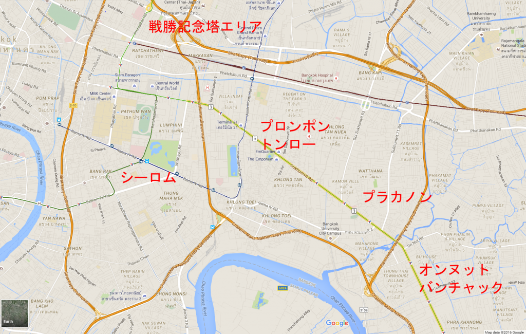 map of BKK