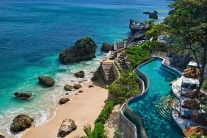 Ocean beach pool