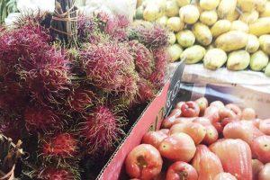 マレーシア、海外転職、海外就職、食生活、朝食、フルーツ、3