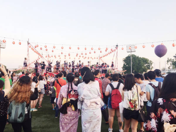 マレーシア、盆踊り、2
