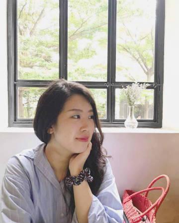 マレーシアのカフェ内でパシャリ