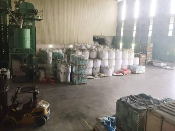 マレーシアのお米工場