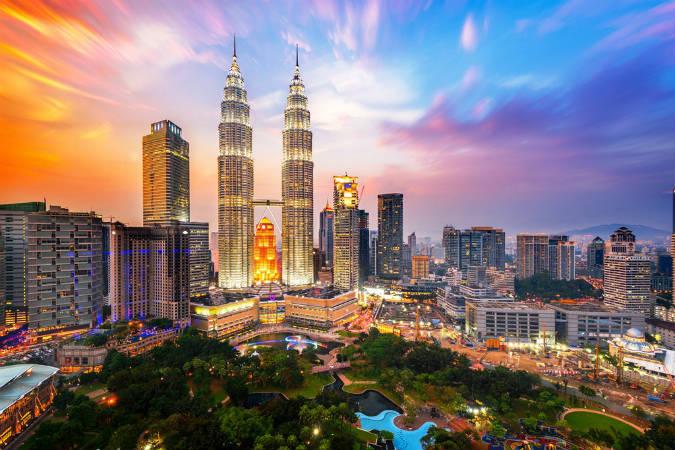 aegisマレーシアの従業員の住む街