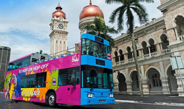 aegisマレーシアの従業員の住む環境のバス
