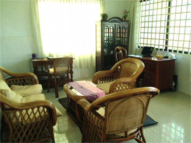 カンボジアで最初に借りたアパート