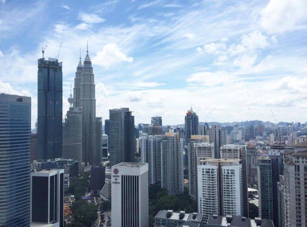 マレーシアクアラルンプールの風景
