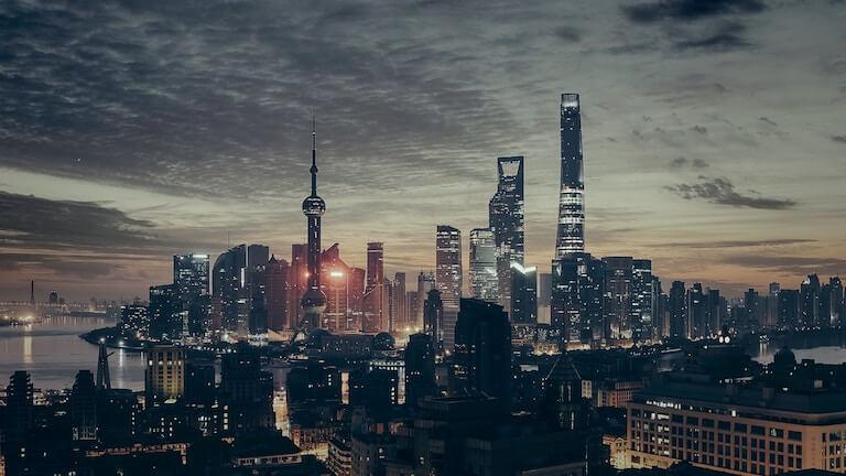 中国 都会