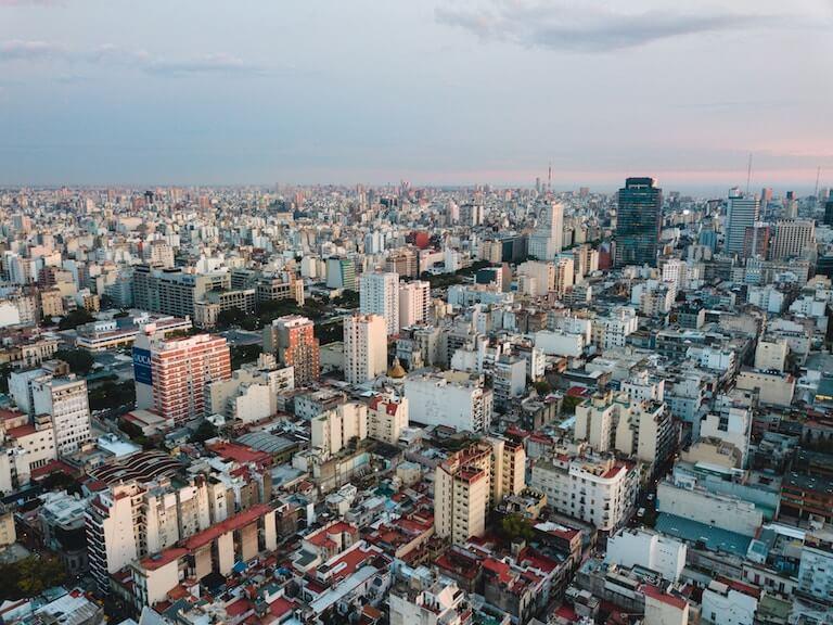 アルゼンチン 街並み
