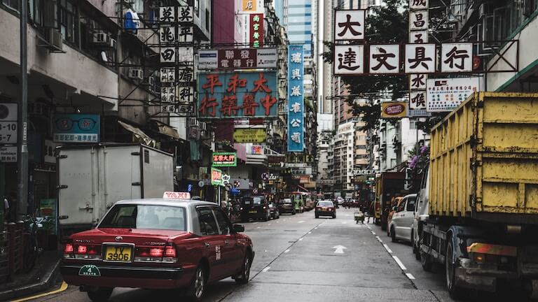 アジア 街並み