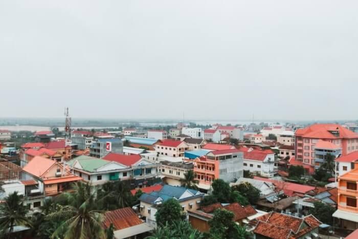 カンボジア 街並み