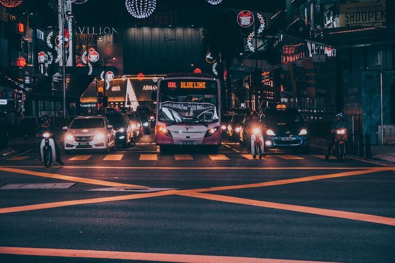 マレーシア 街並み