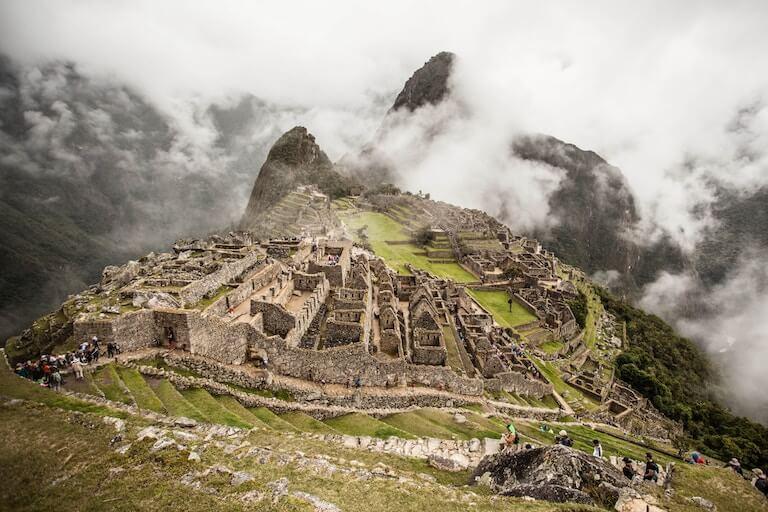 南米 マチュピチュ 風景