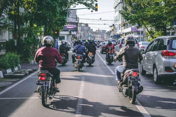 インドネシア バイク