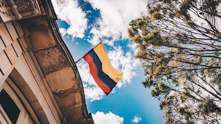 コロンビア 国旗