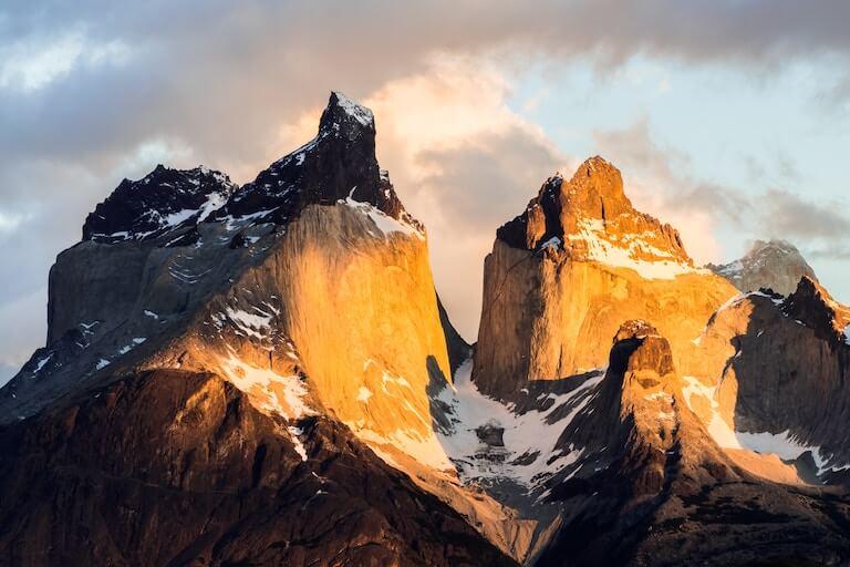 チリ 山岳