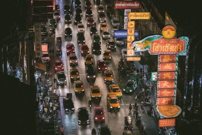 タイ 渋滞