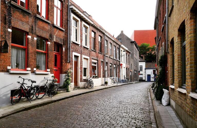 ベルギー 街並み