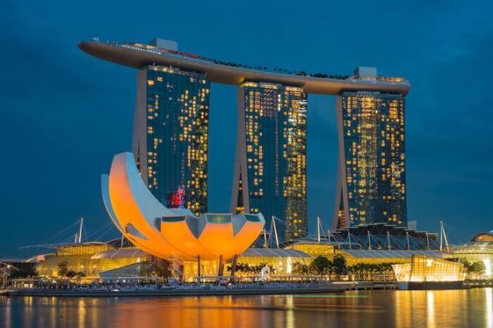 シンガポール 絶景