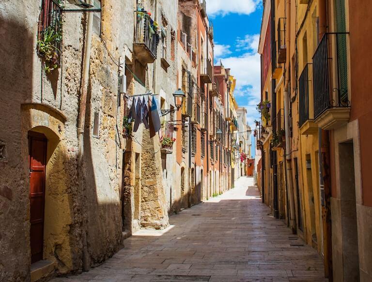 スペイン 街並み