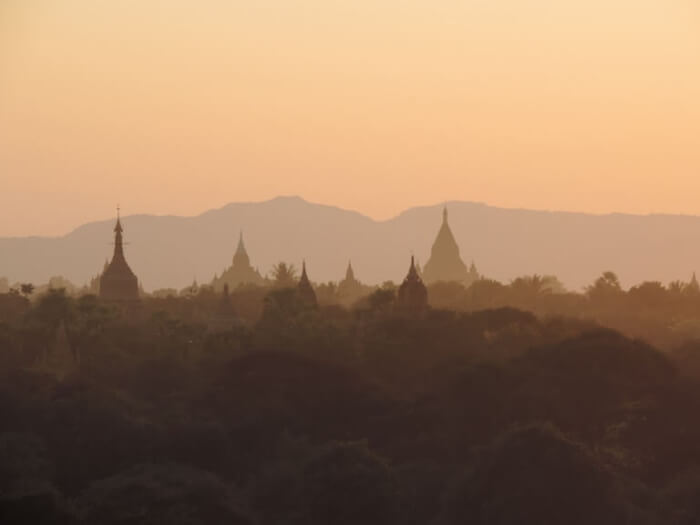ミャンマー  遺跡
