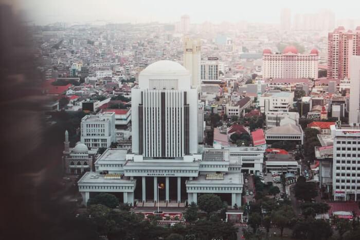 インドネシア 街並み