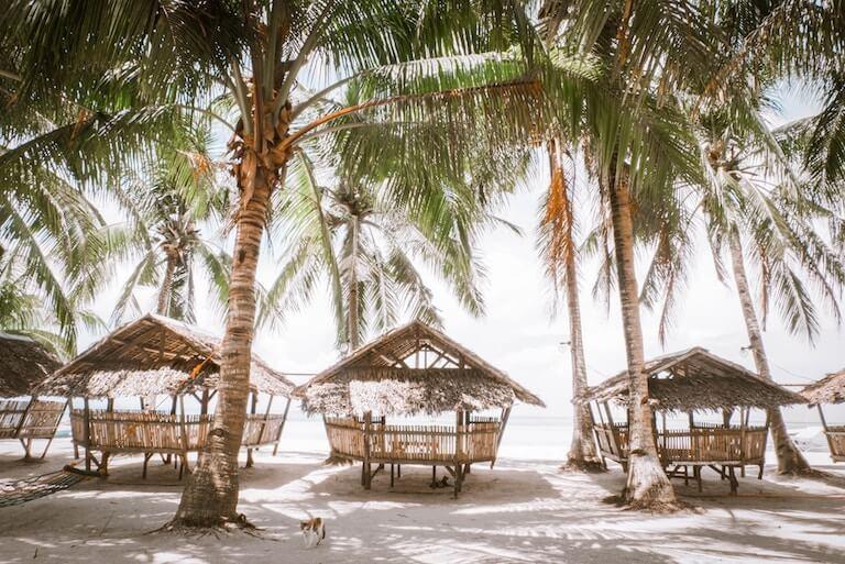 フィリピン 海辺 風景