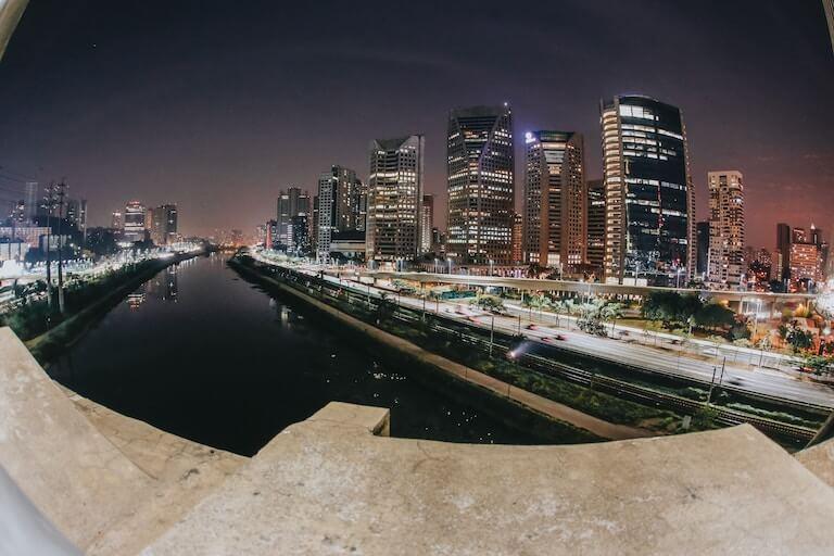 ブラジル 夜景
