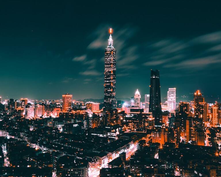 台湾 夜景
