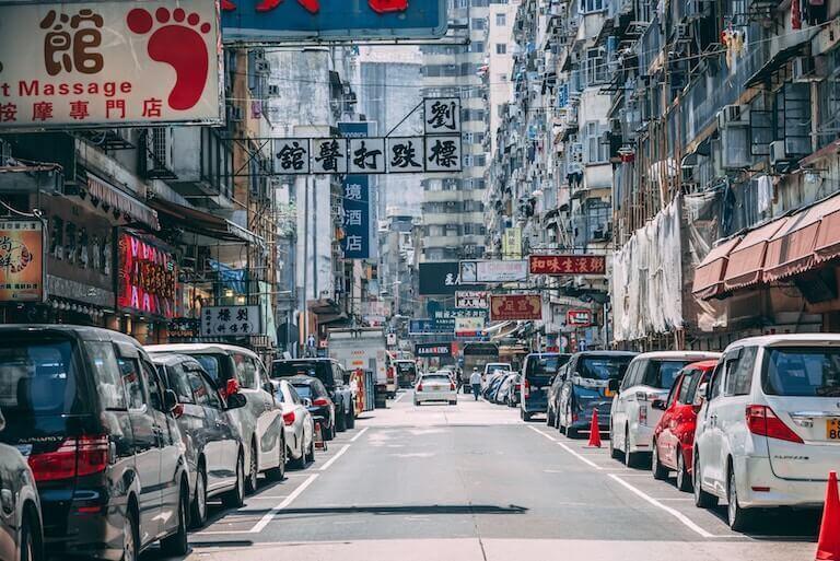 香港 渋滞