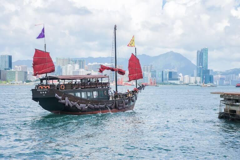 香港 遊覧船