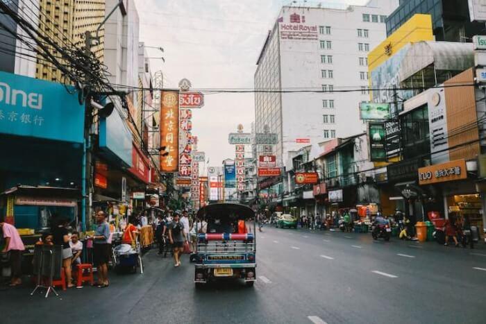 タイ 街並み