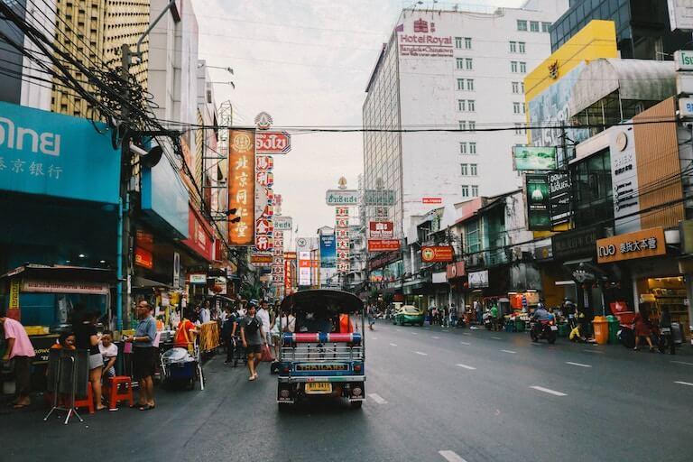タイ 就職 街並み