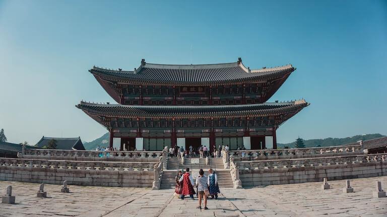 韓国 建物