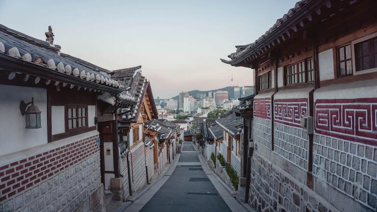 韓国 街並み
